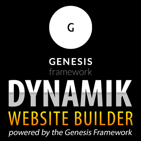 Genesis Framework and Dynamik Website Builder Logos