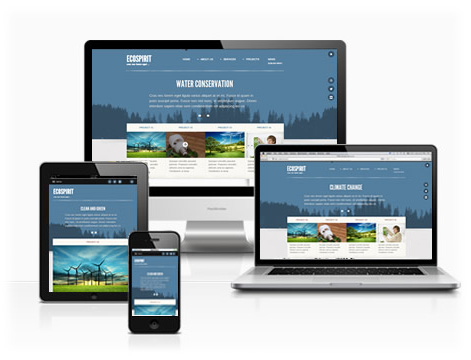Website Mobile Device Responsive Design