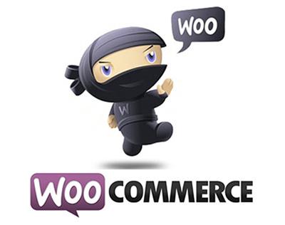 Woocommerce Ninja Mascot Logo